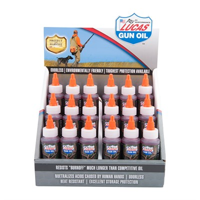 Lucas Oil Products Gun Oil - Gun Oil 18 Pack W/Display Case