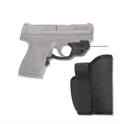 Crimson Trace Corporation S&W Shield 9/40 Laserguard With Iwb Holster S&W M&P Shield Green Laserguard + Pocket Holster
