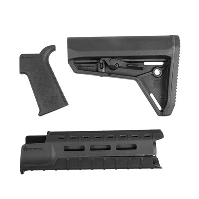 Magpul Ar-15 Moe Sl Furniture Set M-Lok Polymer - Moe Sl Furniture Set M-Lok Carbine Black