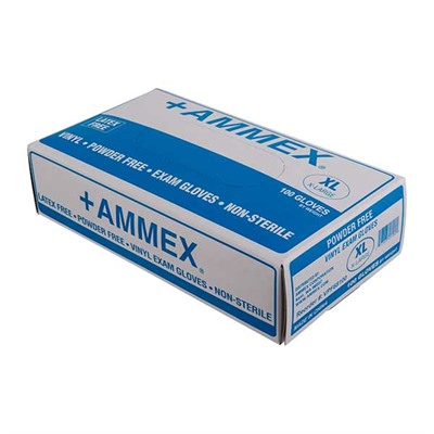Vinyl Exam Gloves - Vinyl Exam Gloves-Medium-100 Per Box