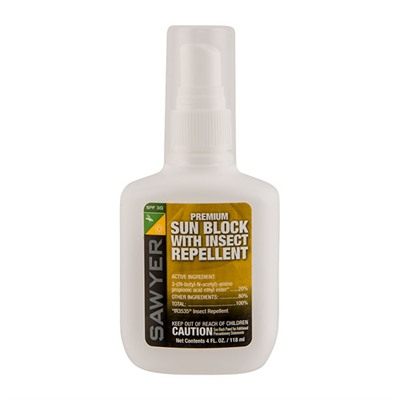 Premium Sunblock With Insect Repellent