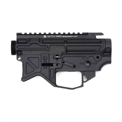 Battle Arms Development Ar-15 Bad556-Lw Lightweight Billet Receiver Set - Bad556-Lw Lightweight Billet 7075-T6 Receiver Set Black