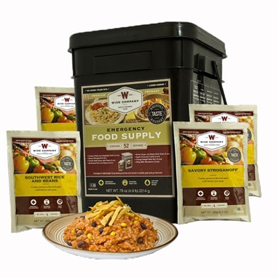 Wise Foods 52 Serving Prepper Pack