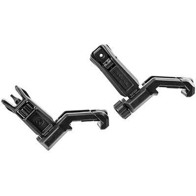 Magpul Ar-15  Mbus Pro Offset Sight Set - Ar-15  Flip-Up Mbus Pro Offset Sight Set Black
