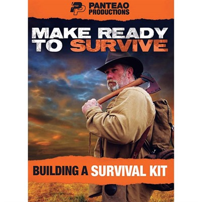 Panteao Productions 100-016-652 Make Ready To Survive: Building A Survival Kit