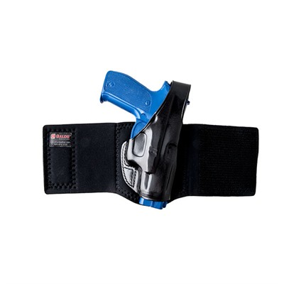Ankle Glove Holsters - Ankle Glove Glock® 26-Black-Right Hand