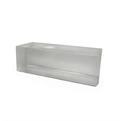 Clear Ballistics Gel Long Range Block - 10% Ballistic Gelatin Long Range Block (20x10x10)