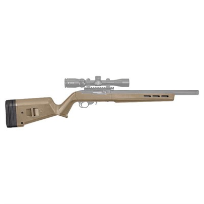 Magpul Ruger 10/22 Hunter X-22 Stock Adjustable - Ruger 10/22 Hunter X-22 Stock Adj Polymer Fde