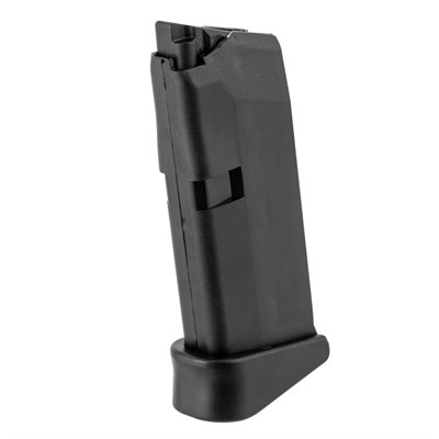 Glock Model 43 Magazines - Model 43 6 Round 9mm Magazine With Finger Extension