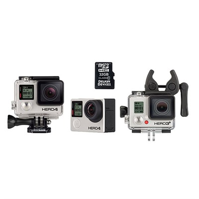 Hero4 Black Action Camera - Gopro Hero4 Black Sportsman Bundle