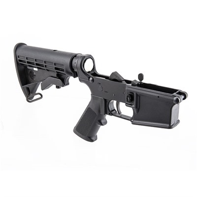 Ar-15 Complete Lower Receiver W/Telescoping Stock