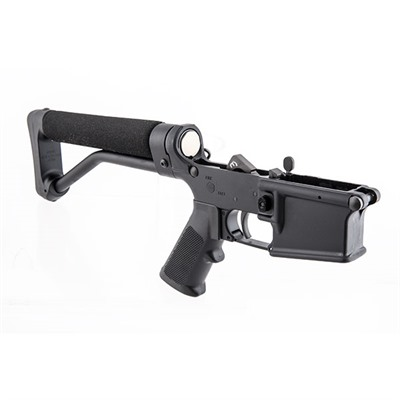 Buy Bushmaster Firearms Int.Llc. Ar-15 E2s M4 5.56 Black Ace Skeleton Stock Lower Receiver