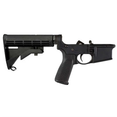 Bravo Company Ar-15/M16 Complete Lower Receiver W/Milspec M4 Stock - Complete Lower W/ Mil-Spec M4 Stock