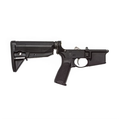 Bravo Company Ar-15 Complete Lower Receiver W/ Bcmgunfighter Stock - Complete Lower W/ Bcmgunfighter Stock Blk