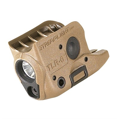 Streamlight Tlr-6 Subcompact Tactical Light/Laser - Glock 42/43 Tlr-6 Weapon Light & Laser Fde