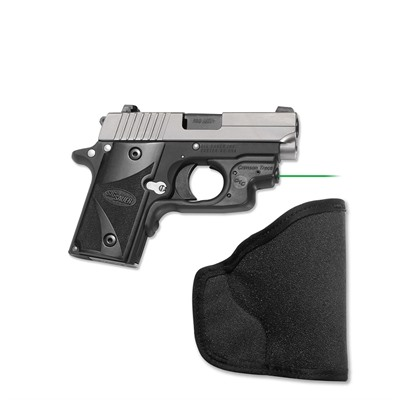 Crimson Trace Corporation Sig P238/P938 Laserguard With Pocket Holster Sig P238/P938 Green Laserguard + Pocket Holster
