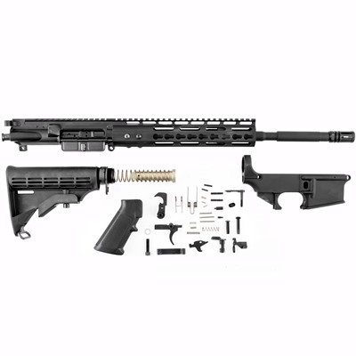 Ar-15 Receiver Set W/Lower Parts Kit & Stock - Ar-15 Receiver Set W/ Lower Parts Kit & Stock