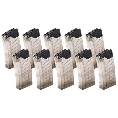 Lancer Systems L5awm Translucent Flat Dark Earth 20-Rd Magazines - Ar-15 L5awm Translucent Fde Magazine 20-Rd