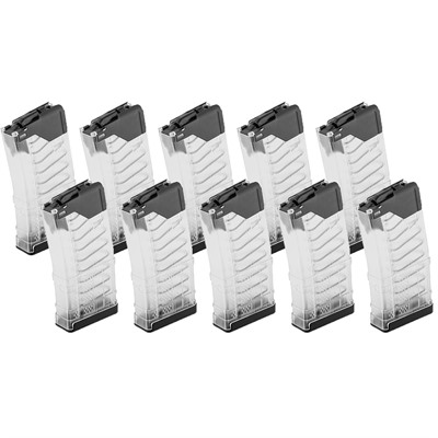 Lancer Systems L5awm Translucent Clear 20-Rd Magazines - Ar-15 L5awm Translucent Clear Magazine 20-Rd