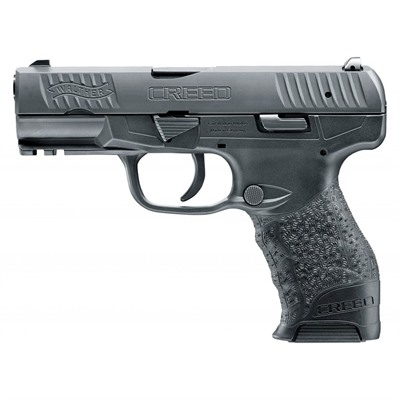 Walther Arms Inc Creed 9mm Black Polymer 16+1rd