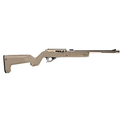 Magpul Ruger 10/22 Takedown Hunter X-22 Backpacker Stocks - Hunter X-22 Backpacker Stock Fde