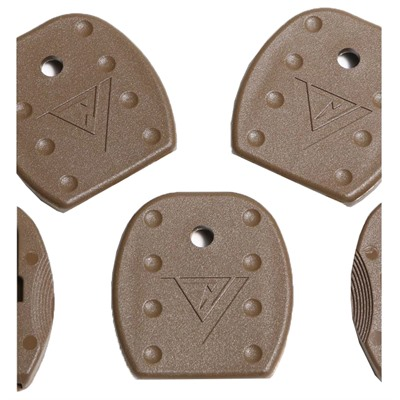 Tangodown Tactical Floorplates For  Glock - Tactical Magazine Floor Plates For Glock Brown