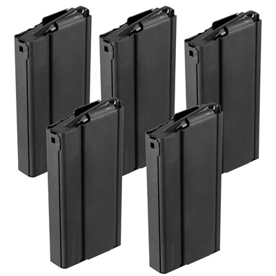 Check Mate Industries Springfield M1a 10rd Magazine 308 Winchester Springfield M1a/M14 Magazine 308 Winchester 20rd Stl Blk 5pk Online Discount