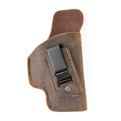 Muddy River Tactical Water Buffalo Soft Leather Iwb Holsters - S&W Shield 9/40 Soft Leather Iwb Holster