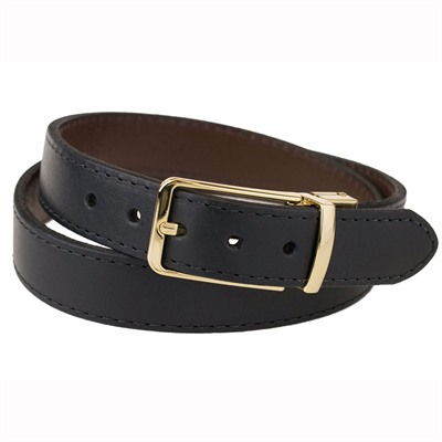 Crossbreed Holsters Women's Reversible Belts - Women's Reversible Belt W/ Gold Buckle Size 16