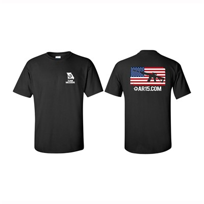 Ar15.Com Missouri Bolt Face Logo T-Shirts - Htf Missouri T-Shirt Black 2x-Large