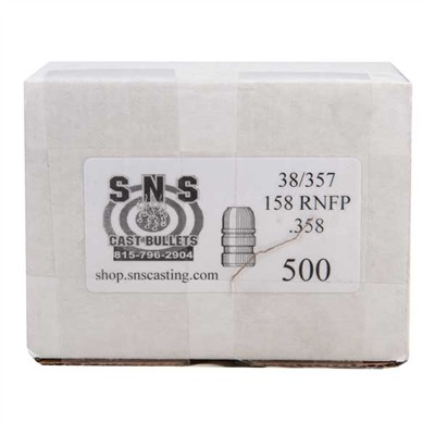 Sns Cast Bullets S&S Cast Pistol Bullets - 38 Cal (.358