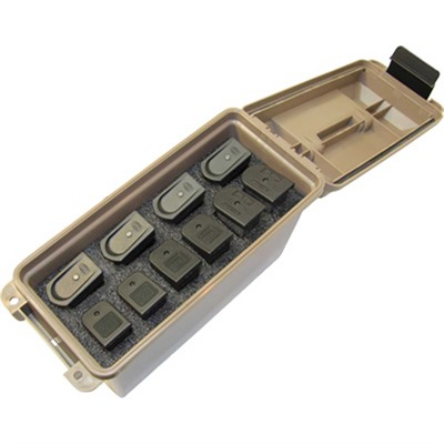 Double Stack Tactical Magazine Can - Tactical Magazine Can Double Stack Polymer Tan