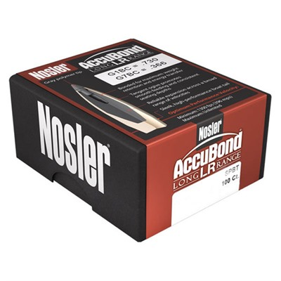 "Accubond Lr Bullets - 7mm (.284"") 175gr Accubond Lr 100/Box"