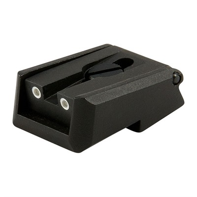 Novak 1911 Adjustable Rear Night Sights - Rear Sights, Tr Fits S&W