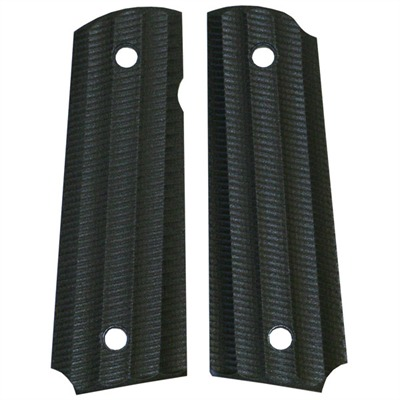 "1911 Auto ""gator-back"" Grips Black Paper Micarta 1911 Grips, Std. : Handgun Parts by Vz Grips for Gun & Rifle"