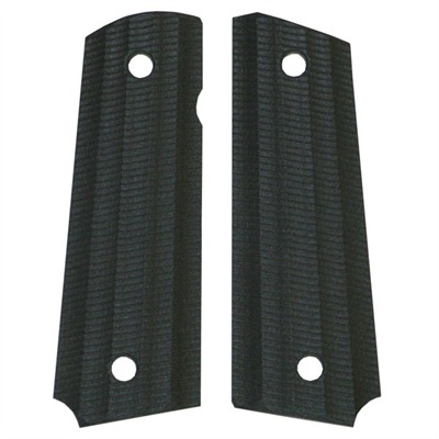 "1911 Auto ""gator-back"" Grips Black Paper Micarta 1911 Grips, Slim : Handgun Parts by Vz Grips for Gun & Rifle"