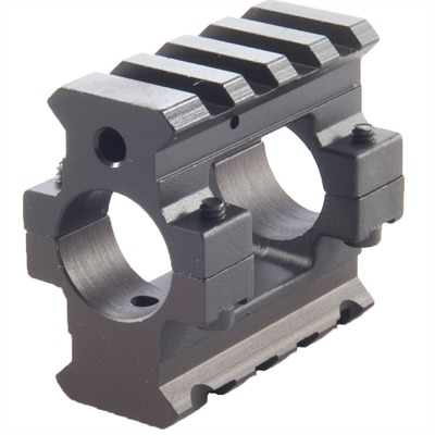 Ar-15 Gas Block Picatinny - Ar-15 Gas Block 2-Rail Picatinny .750 Steel Black