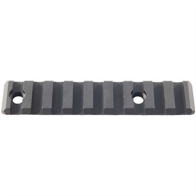 Yankee Hill Machine Co. Ar-15 Picatinny Direct Thread Add-On Rail Aluminum - Direct Thread Add-On Rail Picatinny Aluminum Black 4