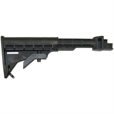 Tapco Weapons Accessories Ak-47 T6 Stock For Stamped Receiver Collapsible - Ak-47 T6 Stock For Stamped Receiver Collapsible  Blk