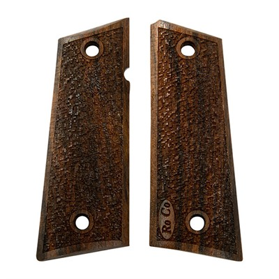 Roco Firearm Technology, Llc Semi-Auto Walnut Grips