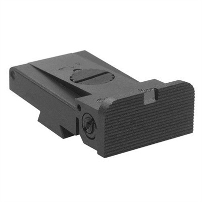 Combat Carry Adjustable Rear Sight - Lpa Cut 1911 Rear Sight