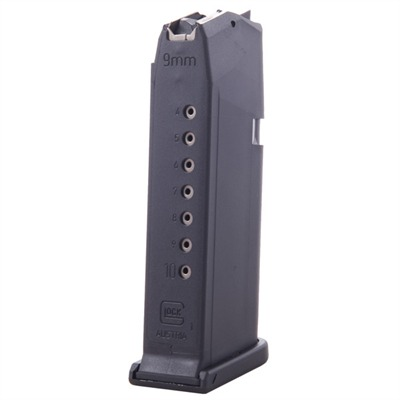 Glock Model 19 9mm Magazines - Magazine Fits 19, 9mm, 10-Round