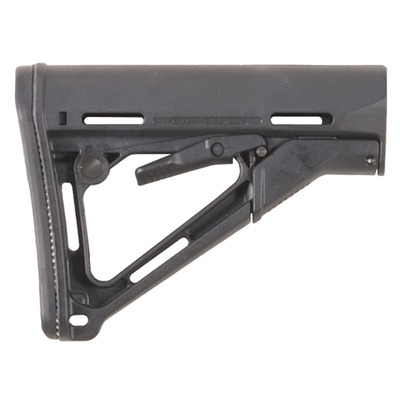 Ar-15 Ctr Stock Collapsible Mil-Spec - Ar-15 Ctr Stock Collapsible Mil-Spec Blk