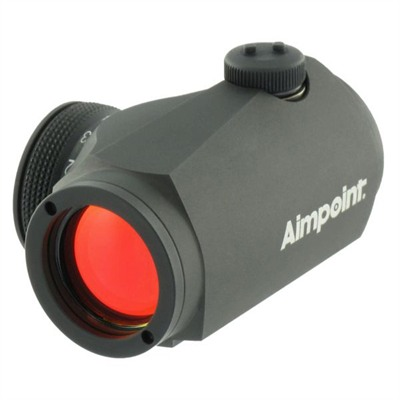 Aimpoint Micro H-1 Red Dot Sight W/ Weaver Style Mount