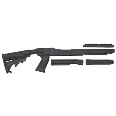 Ruger~ Semi-auto Rifle Fusion T6 Adjustable Stock Tapco T6 10 / 22 Stock : Rifle Parts by Tapco Weapons Accessories for Gun & Rifle