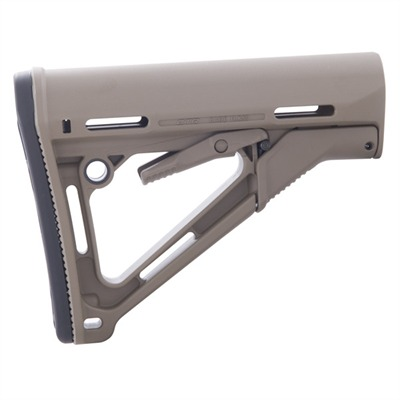 Magpul Ar-15 Ctr Stock Collapsible Mil-Spec - Ar-15 Ctr Stock Collapsible Mil-Spec Fde