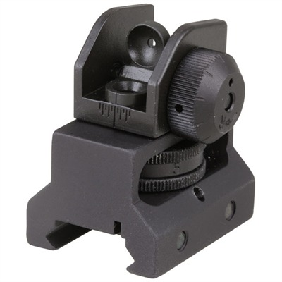 Ar-15 / m16 A2-style Rear Sight Yhm643k Solid A2 Rear Sight : Rifle Parts by Yankee Hill Machine Co., Inc. for Gun & Rifle