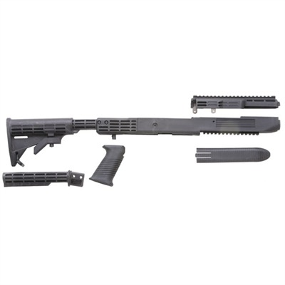 Tapco Weapons Accessories Ruger Mini-14 Fusion T6 Stock Adjustableustable - Ruger Mini-14 Fusion T6 Stock Adj Composite Blk