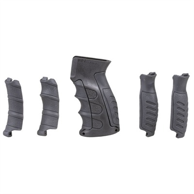 Command Arms Acc Ak-47 Pistol Grip W/ Inserts - Pistol Grip W/ Inserts Polymer Black