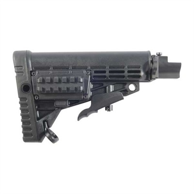 Ak-47 6-Pos Stock For Stamped Receiver Collapsible - Ak-47 6-Pos Stock For Stamped Receiver Collapsi